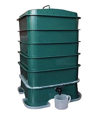VermiHut Plus 5-Tray Worm Compost Bin