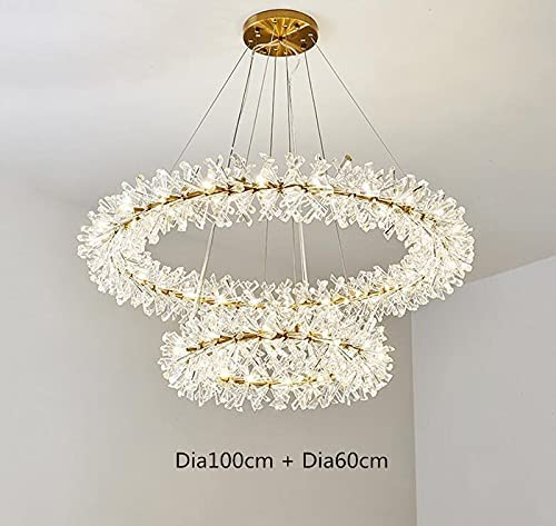 WUYUESUN Ring Sale special price Design Modern Crystal Chandelier lamp 220V AC110V New products, world's highest quality popular!
