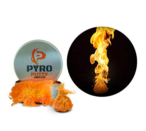 Phone Skope PYRO Putty Winter, Summer, Eco Blend, Emergency Survival Fire Starter (2 oz Orange Summer Blend 40°F - 110°F)