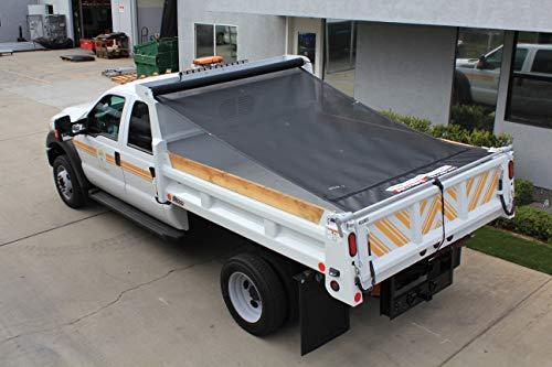 Pulltarps EZ Fit Core Semi-Automatic Tarp System for Dump Trucks, Trailers, & Landscaping