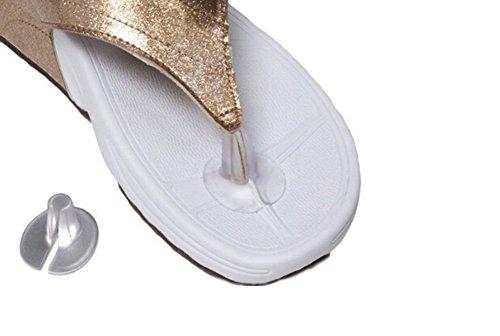 3Paar Silikon String Sandale Zehenschutz Kissen Sandale Zehen Protektoren