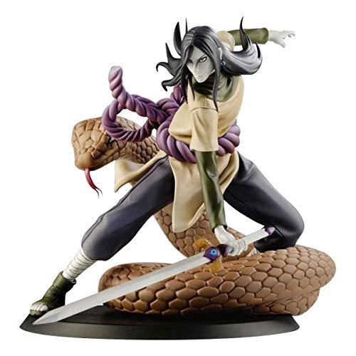 Action Figure Orochimaru Dxtra Naruto Banpresto Multicores