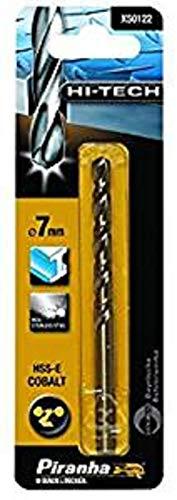 Preisvergleich Produktbild Piranha HSS-E Kobalt Hi-Tech Metallbohrer (für alle Metallarten,  5, 5 mm Bohrdurchmesser,  93 mm Gesamtlänge) 1 Stück,  X50117