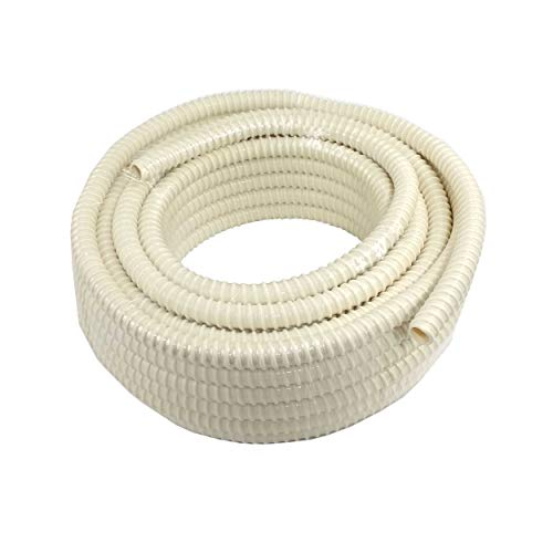 Aktivat 10 m Kondensatschlauch Spiralschlauch Universal Ø 16mm, Meterware, für Klimageräte, Klimaanlage und Andere - Innen glatt. Auch unter Putz verwendbar