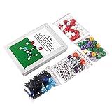 Feketeuki Molecular Model Kit 239 PCS OCDAY Química orgánica e inorgánica Molecular Model Student Set (86 átomos y 153 Partes de Enlaces) - Multicolor