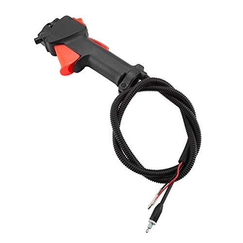 NIMOA Desbrozadora de Control Asamblea - Strimmer Trimmer Interruptor de la Manija del Gatillo de Aceleración Cable Accesorios for Segadoras, 26mm