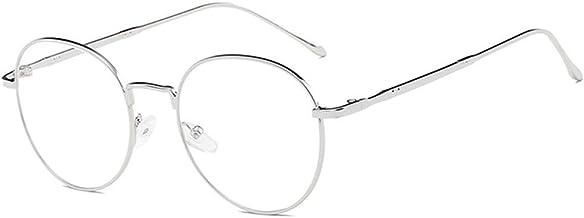 ZEVONDA Montatura Occhiali da Vista Finti Vintage Donna Uomo Lenti Trasparenti Oversize Decorativo Occhiali