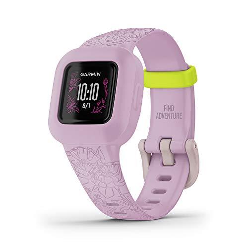 orologio fitness junior Garmin Vivofit Jr.3 Floral Pink - Activity Tracker per Bambini