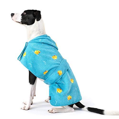 Barkbox Dog Bath Robe (Rubber Duck, Medium)