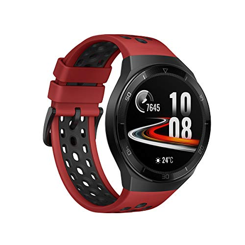 Huawei Watch GT 2e Sport - Smartwatch de AMOLED pantalla de 1.39 pulgadas, 2 semanas de batería, GPS, Color Rojo (Lava Red) 46 mm (55025280) miniatura