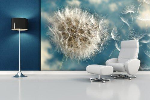 XXL-Tapeten Fototapete Dandelion Seed - weitere Größen und Materialien wählbar - DEUTSCHE Profi QUALITÄT von Trendwände