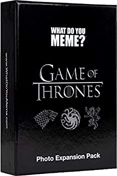 Game of Thrones Photo Expansion Pack by What Do You Meme? - Designed to be Added to What Do You Meme? Core Game