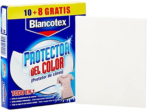 Blancotex - Protector Color, 1 paquete con 18 toallitas