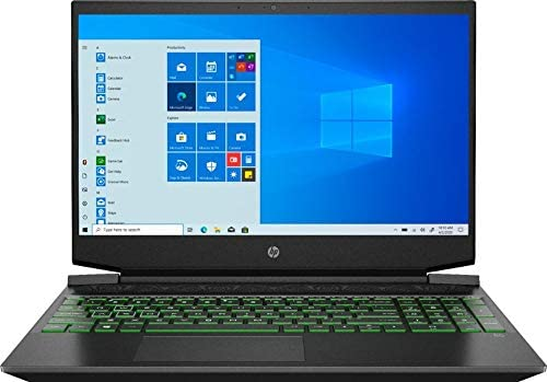 HP Pavilion 2021 15 6 FHD Gaming Laptop Computer 6 Core AMD Ryzen 5 4600H 3 0GHz 8GB RAM 256GB product image