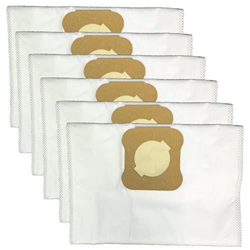 Green Label 6er-Pack HEPA Staubbeutel für Kirby Staubsauger (Vergleichbar mit 204803)
