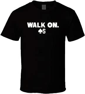 Baker Mayfield Cleveland Football Walk On First Pick Cool Fan Black T Shirt
