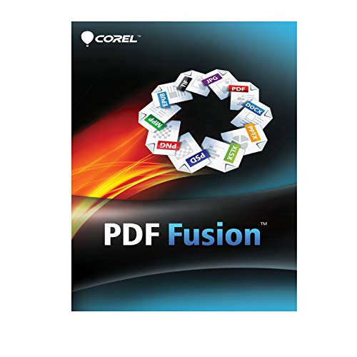 Corel 185F858 PDF Fusion 1, Download, Win, Multilingual ESDCPDFF1ML