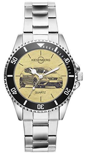 KIESENBERG Uhr - Geschenke für Seat Leon Cupra R seit 2017 Fan 4436
