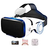 AYI Vr headsets Virtual Reality Glasses 3D Glasses 120° Viewing Angle, Suitable for 4.7-6.0 inch iOS/Android Mobile Phone,Package1