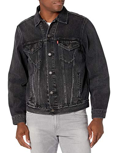 Levi's Men's Vintage Fit Trucker Jackets, Midnight, M