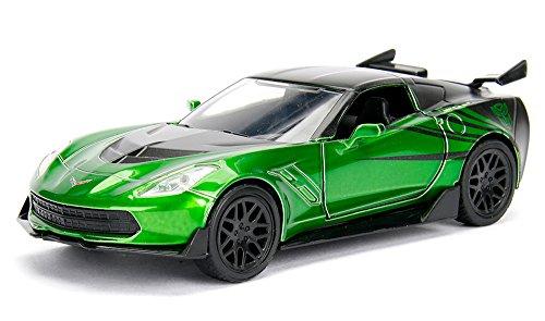 JADA 1:32 Metals Transformers 5 - Crosshairs 2016 Chevrolet Corvette Stingray Diecast Model Car