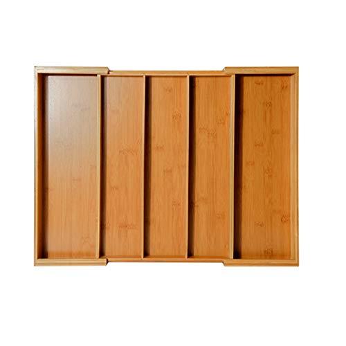 Caja de Almacenamiento de Cubiertos Bandeja para Cubiertos Ajustable Robusto Protección del Medio Ambiente Durable Compartimiento múltiple Cocina Oficina Dormitorio Baño