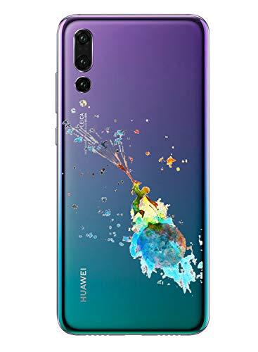 Caler Carcasa Compatible con Huawei Honor 8S/Y5 2019 Teléfono Móvil TPU Bumper...