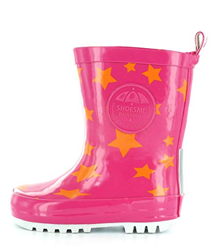ShoesMe RB7A092-E KIDS' WELLIES 26 Fuxia star