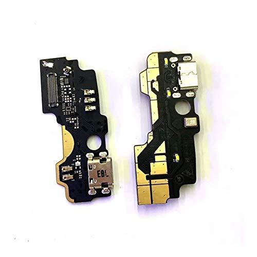 HDHUIXS Compatibilidad Puerto USB de Carga Junta For ZTE MAX XL N9560 USB Base de Carga del Puerto Flex Piezas de reparación del Cable Profesional