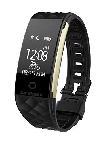 Fitness Companion, Impermeabile IP67dinamica frequenza cardiaca e multimodale Smart Tracker Wristband.