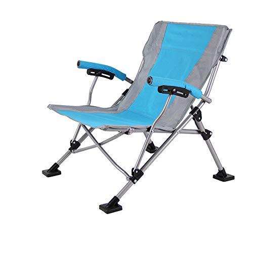 Silla Camping Sillones reclinables de silla de descanso portátil de gravedad cero for patio, piscina, jardín, pesca, camping, actividad al aire libre, configuración rápida y plegado Para acampar, al a