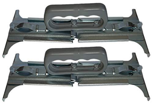 Fliesenheber Verstellbar 300-500 mm Ergonomischer Griff Plattenheber Trockenbau Plattenlift Fliesen Werkzeug Halter Plattenträger Steinzange Pflasterzange (2)