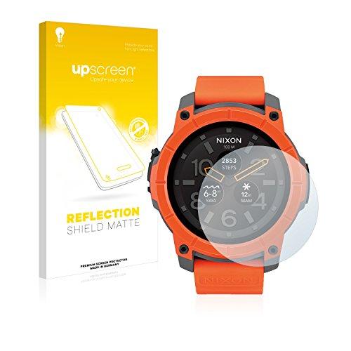 upscreen Entspiegelungs-Schutzfolie kompatibel mit Nixon The Mission – Anti-Reflex Bildschirmschutz-Folie Matt