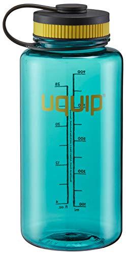 Uquip Thirsty 2.0 - Borraccia in Tritan da 1 litro con Chiusura a Vite (Petrolio)