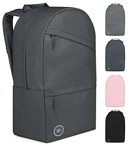 Simple Modern Legacy Backpack with Laptop Compartment Sleeve - 35L Travel Bag for Men & Women College Work School -Graphite