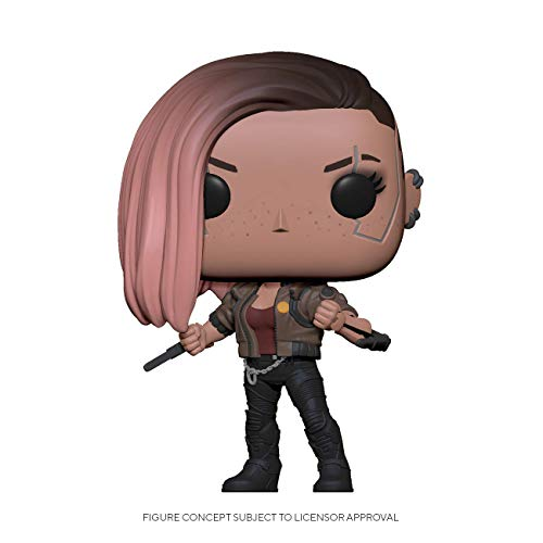 Funko - Pop! Games: Cyberpunk 2077- V-Female Figura Coleccionable, Multicolor (47510)