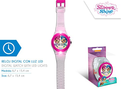 Disney – Shimmer And Shine digitale klok met LED-licht, sh17024