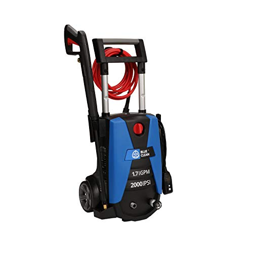 AR Blue Clean New Electric 2000 PSI Pressure Washer, with up to 1.7 GPM,...