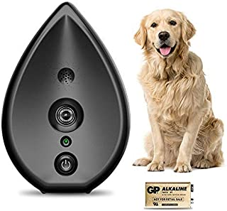 MODUS Automatic Anti Barking Device - 2-in-1 Dog Barking Control Device with 3 Adjustable Ultrasonic Level, Indoor Dog Bark Deterrent Bark Box, Safe for Human & Dogs, Sonic Bark Control Fits All Dogs