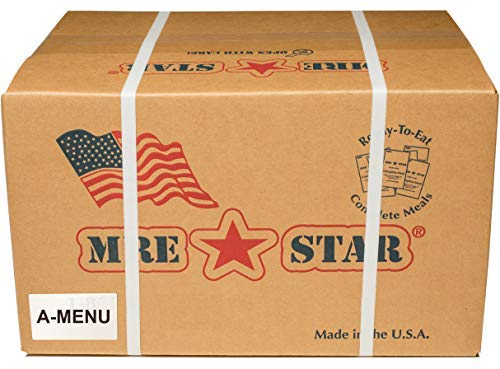 Fresh Packaged MRE Meals Ready to Eat Meal kits. Military Style Meals. Includes Delicious Entrees, Accessory Pack, Side Dishes, Beverage Mix (Choose your meals) (Case A, 1 Case of 12 Meals)