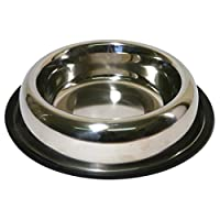 Quality non slip stainless steel bowl with a non-slip rubber rim to the base. Dishwasher safe. Item package weight: 0.71 pounds Number of items: 1