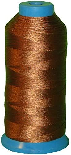 Brown SHK Heavy Bonded Nylon Thread