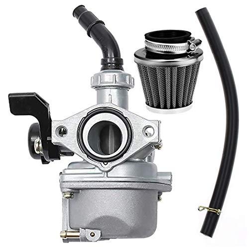 PZ19 Carburetor with 35mm Air Filter for TaoTao Kazuma Baja 50cc 70cc 90cc 110cc 125cc Dirt Bike ATV,NST SunL Chinese Quad 4 Stroke ATV Go Kart Pit Dirt Bike CRF50F XL75 CRF80F XR50R by KAKO