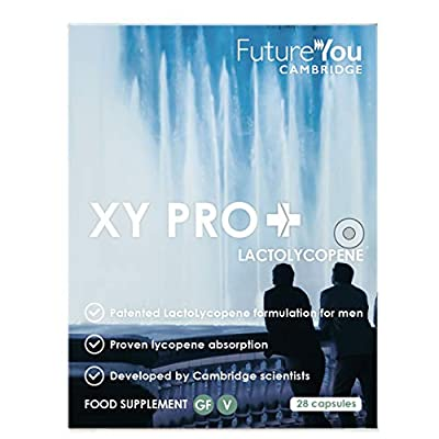 XY PRO+ ?Lycopene for Men 50+ from Future You? Contains LactoLycopene ? Highly Bioavailable Formulation ? Developed by Cambridge Scientists