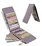Zoom IMG-1 yaluxe portafoglio vera pelle blocco