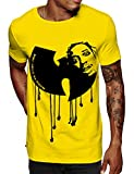 Swag Point Hip Hop T-Shirt - Funny Vintage Street wear Hipster Parody (L, Protect)