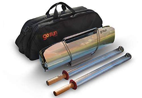 GoSun barbecue, solar barbecue, for food, cooking in the sun, ideal for camping or hiking., 3PP1D1P1