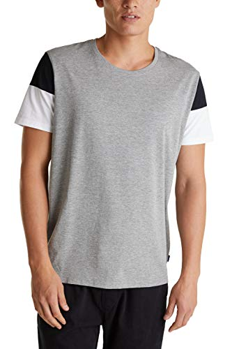 edc by Esprit 040cc2k320 Camiseta, 039 / Gris Medio 5, M para Hombre