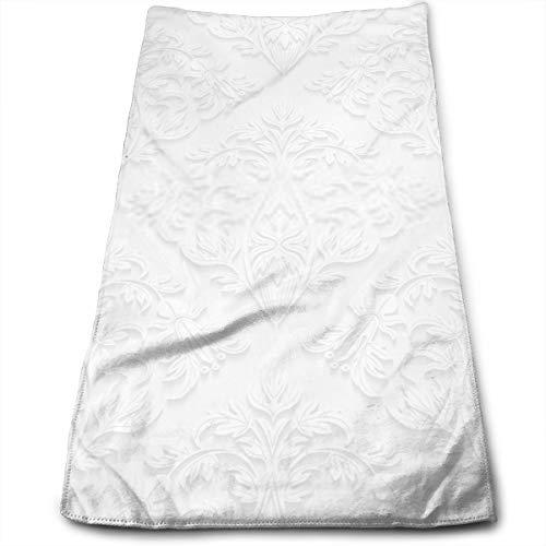 YudoHong Patrón Floral sin Costuras en Toallas de algodón de Estilo Tradicional Ideales para Uso Diario