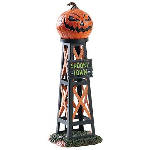 Lemax Spooky Town Evil Pumpkin Water Tower #83341